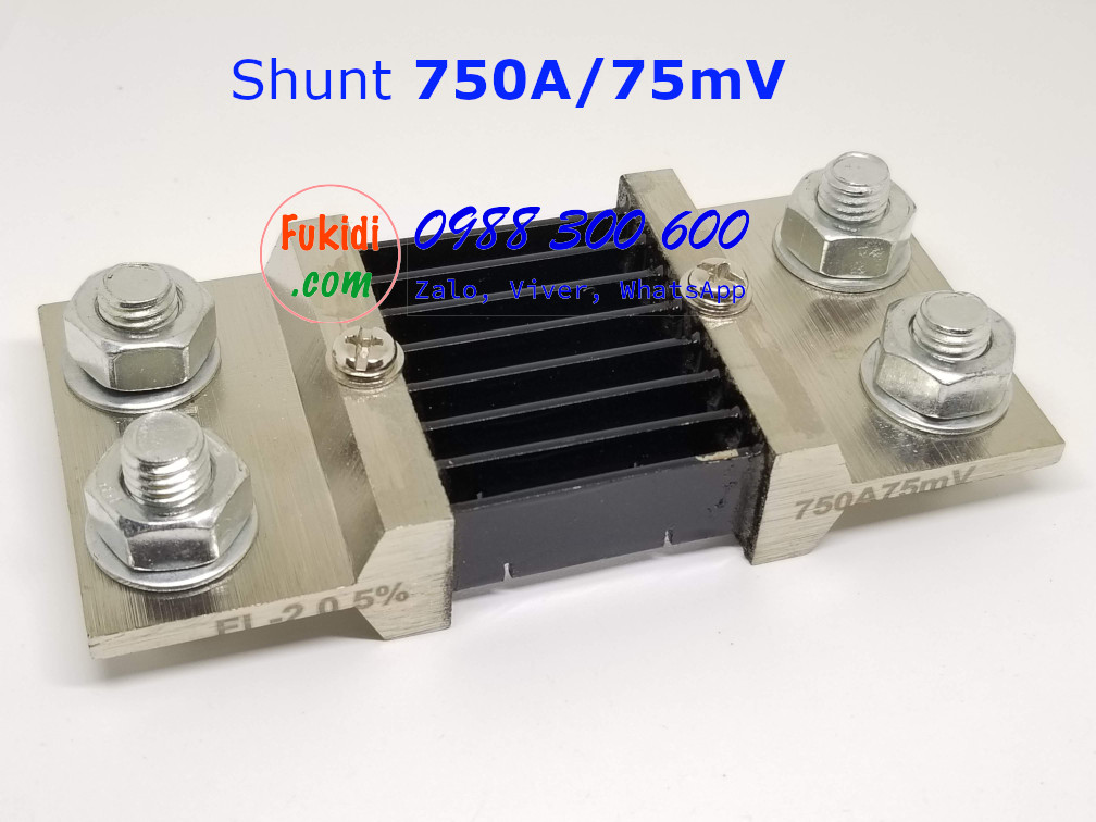 Điện Trở Shunt FL-2 750A/75mV Sai Số 0.5%