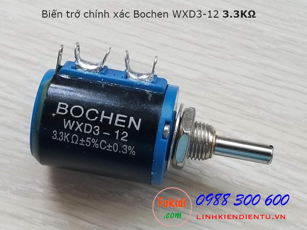 Biến trở chính xác Bochen WXD3-12 3.3K