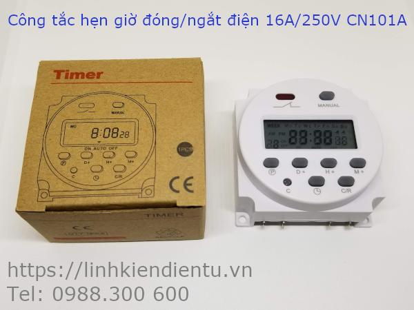 Công tắc hẹn giờ đóng/ngắt điện 16A/220V CN101A