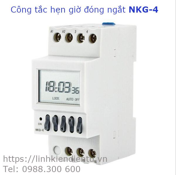 Công tắc hẹn giờ đóng/ngắt điện, hẹn giờ báo chuông KNG-4