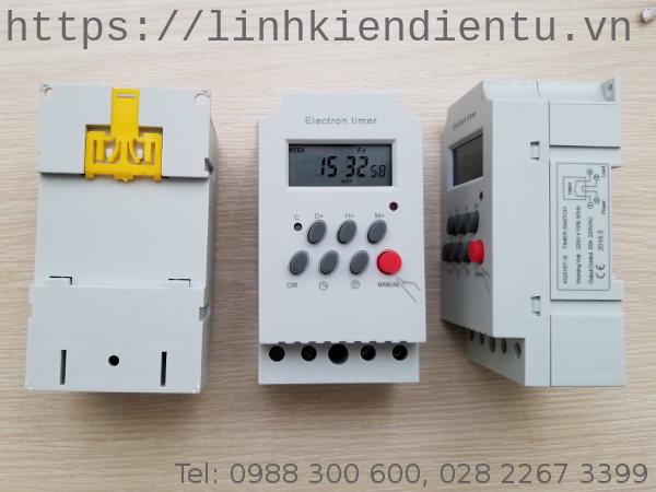 Bộ hẹn giờ KG316T-II: 220VAC/25A Timer Switch