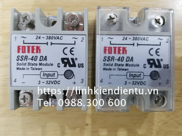 FOTEK SSR-40 DA: solid state relay module