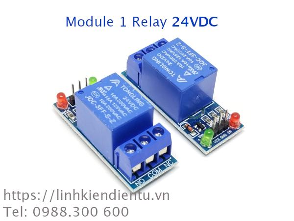 Module 1-Relay 24VDC không cách ly