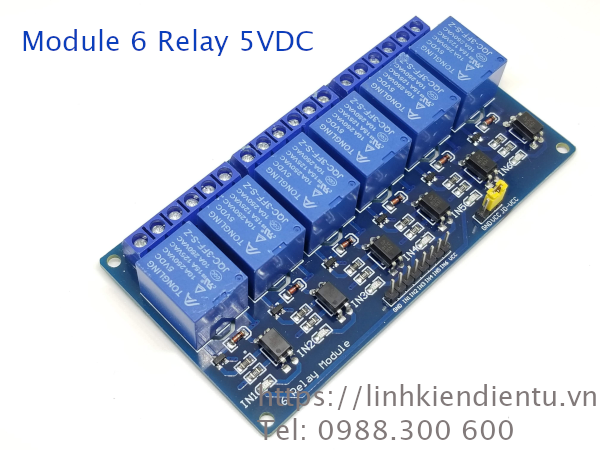 Module 6 Relay 5V