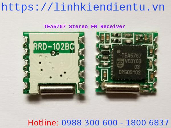 TEA5767 Module thu sóng FM Radio - Stereo FM radio receiver module