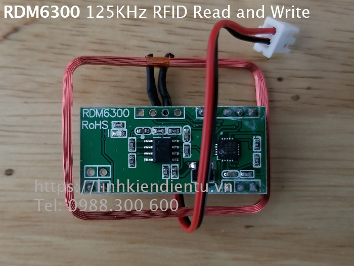 Module thu phát RFID 125KHz RDM6300