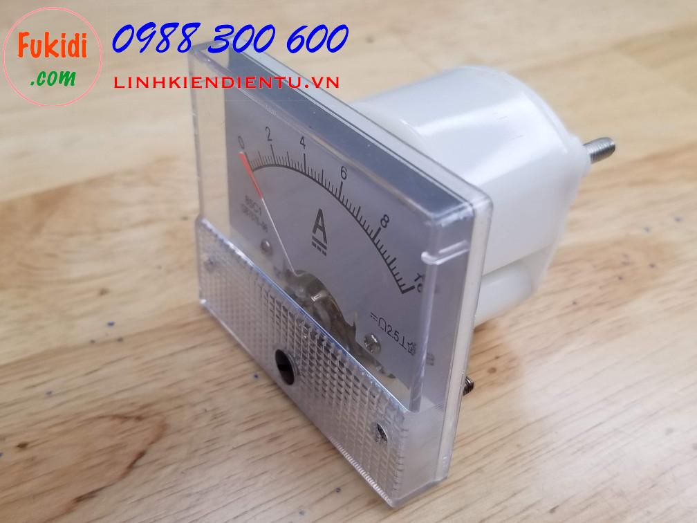 Ampe kế 85C1 đo dòng điện DC với tầm đo từ 0 đến 10A