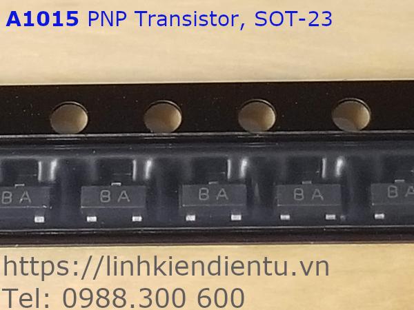 2SA1015-BA 50V/150mA, SOT-23 PNP Transistor