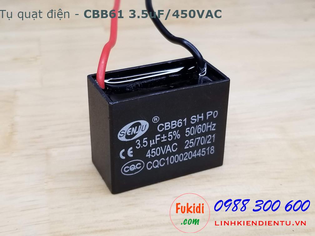 Tụ CBB61 3.5uF 450V