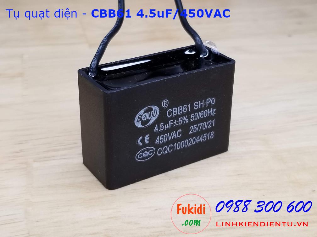 Tụ CBB61 4.5uF 450V