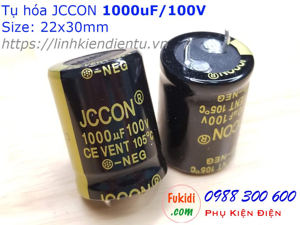 Tụ hóa 1000uF 100V size 22x30mm