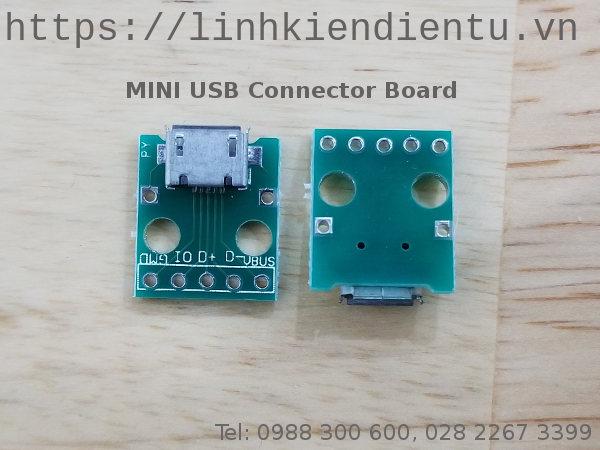 Mini USB Connector Board